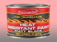 HEAT RESISTANT PAINT TIN
